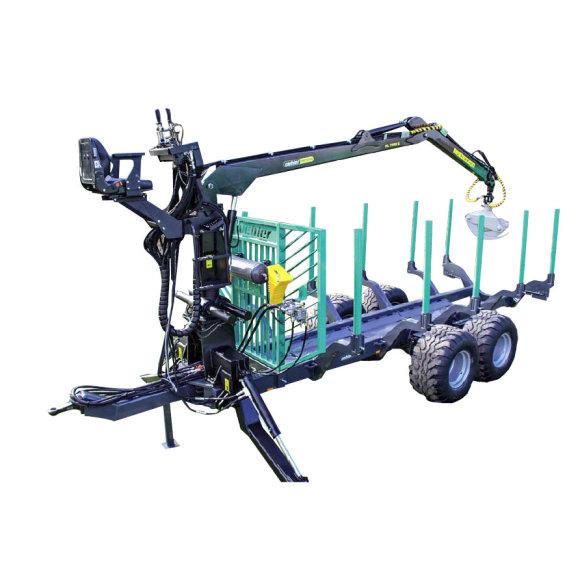 Remorci pentru transport forestier